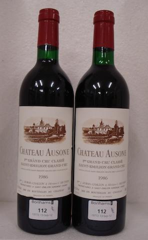 Chateau Ausone  1986 (2)
