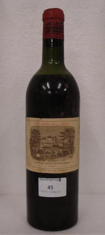 Chateau Lafite Rothschild 1961 (1)