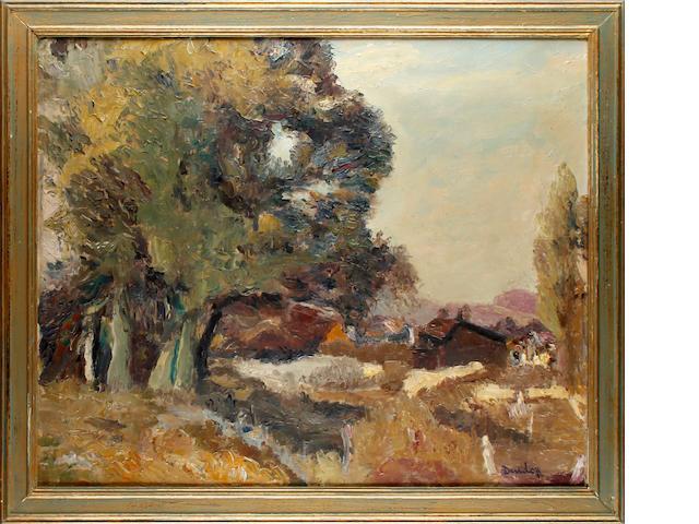 Ronald Ossory Dunlop, NEA, ARA, RBA (British, 1894-1973) Landscape