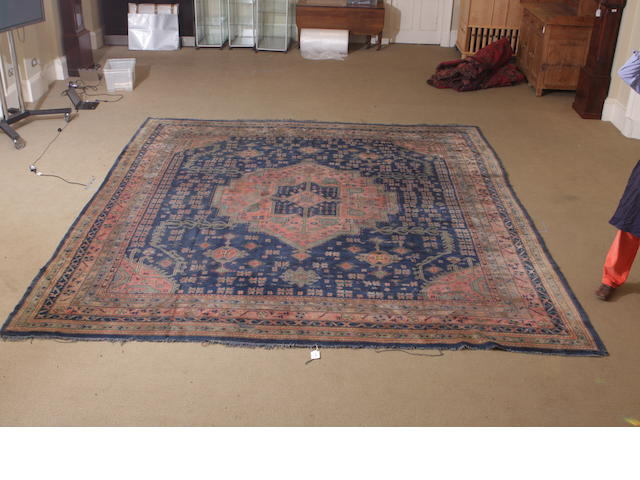 A Turkey carpet 427cm x 395cm