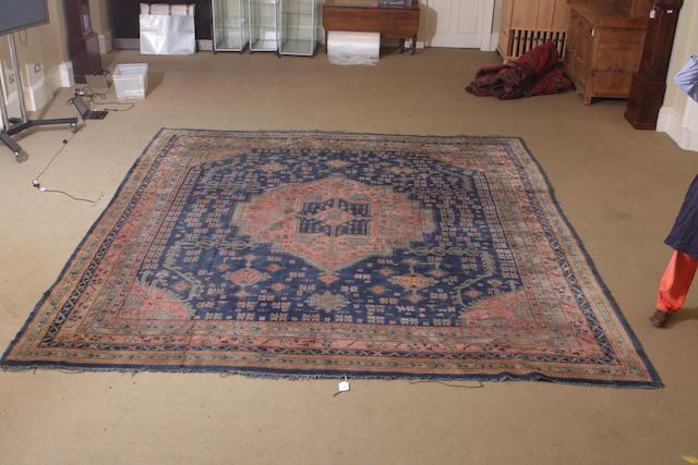 A Turkey carpet 427cm x 395cm