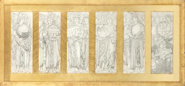 Sir Edward Coley Burne-Jones, Bt. ARA, RWS (British, 1833-1898) The Days of Creation