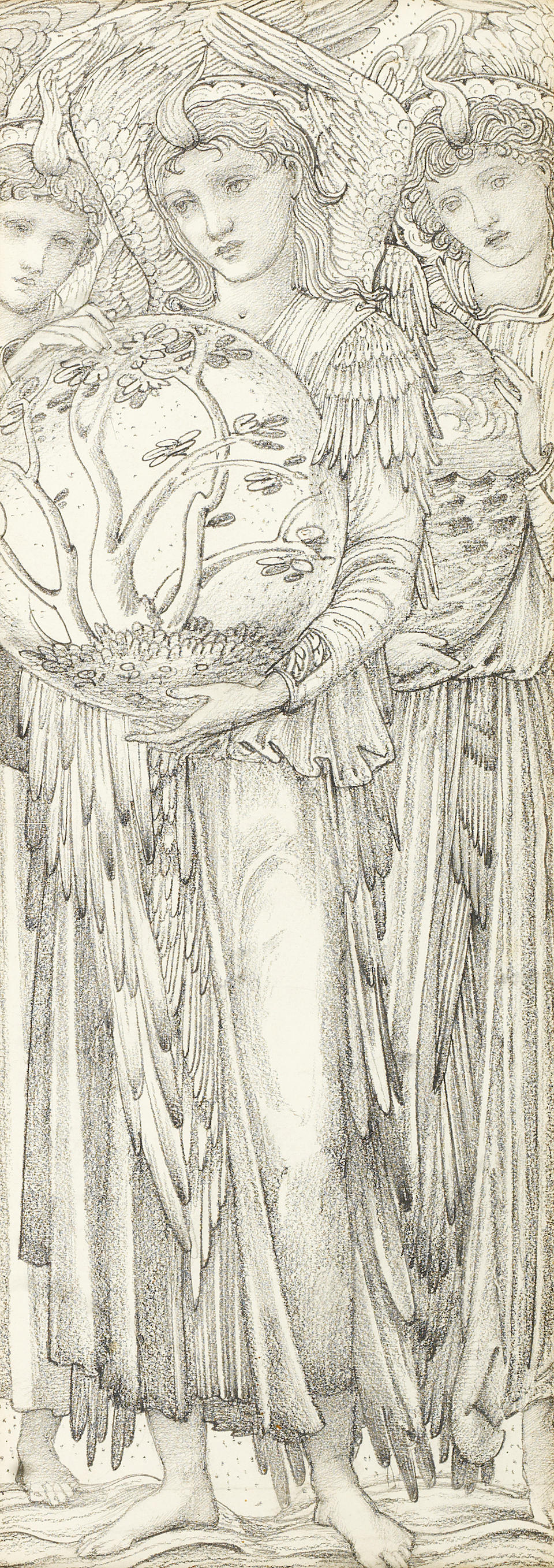 Sir Edward Coley Burne-Jones, Bt. ARA, RWS (British, 1833-1898) The Days of Creation