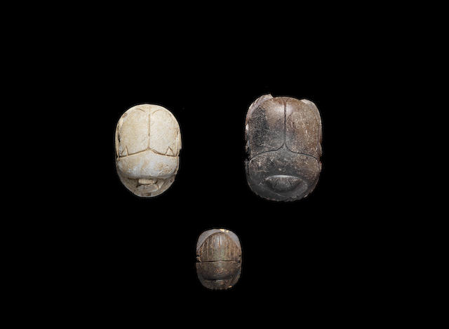 Three Egyptian scarabs 3