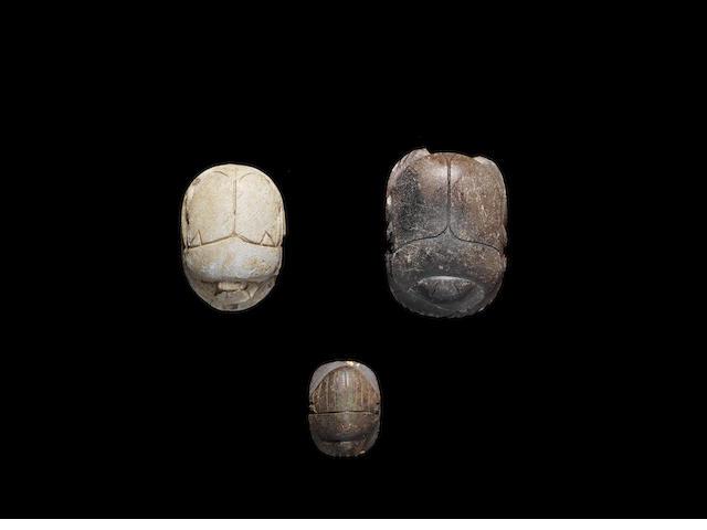 Three Egyptian scarabs 3