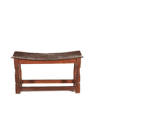 A Mouseman bench