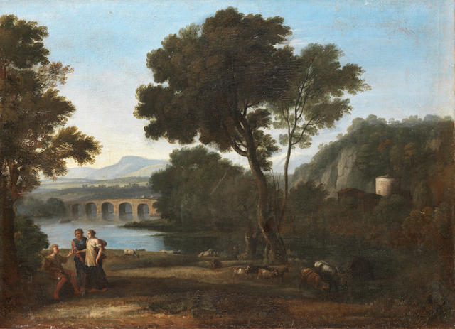 Studio of Claude Gellée, called Claude Lorrain (Champagne 1600-1682 Rome)