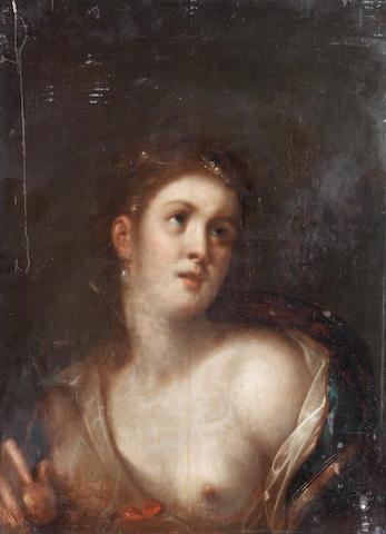 Gortzius Geldorp (Louvain 1553-1618 Cologne) Aphrodite with the Golden Apple unframed