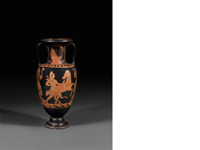 A Campanian red-figure neck amphora