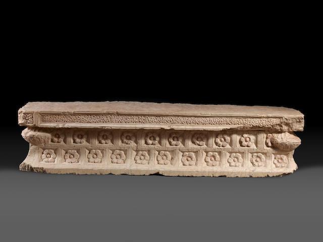 A pair of Palmyrian stone lintels 2
