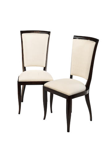 Euorpean A Set of Six Art Deco Style Chairs