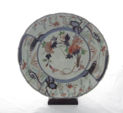A Japanese Imari saucer dish Early 18th century