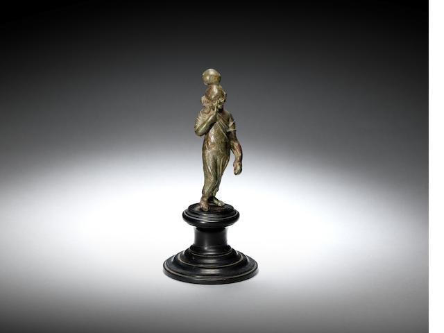 A Romano-Egyptian figure of Harpokrates