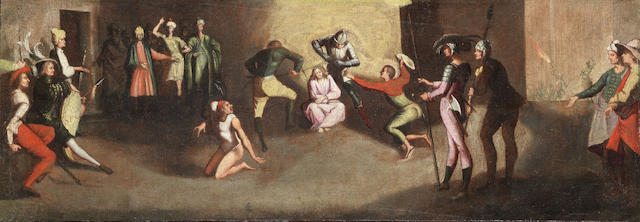 Circle of Jean Leclerc (Nancy circa 1587-1633) The Mocking of Christ unframed