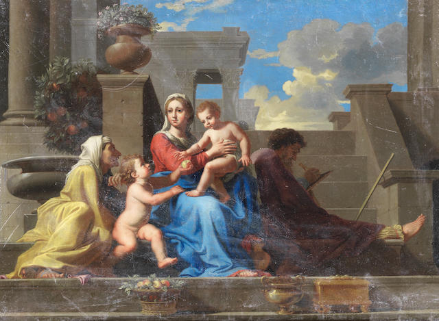 After Nicolas Poussin, 17th Century The Madonna of the Steps unframed