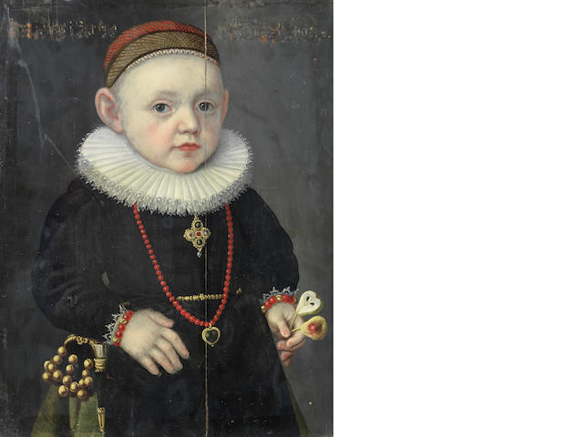 Circle of Lorenz Strauch (Nuremberg 1554-1630) Portrait of a boy