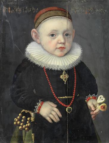 Circle of Lorenz Strauch (Nuremberg 1554-1630) Portrait of a boy