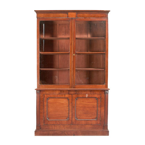 A Regency mahogany bookcase