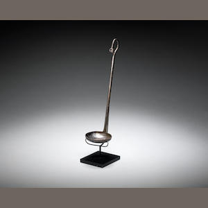 An East Greek silver ladle - THIS LADLE was offered CHRISTIES 6 DEC 2007, with provenance - GERMAN market 1993 - what provenance should we put?