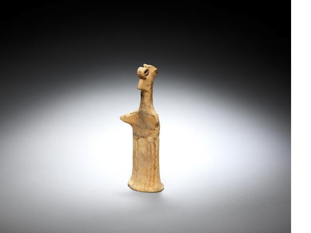 A Boeotian terracotta pappades figure