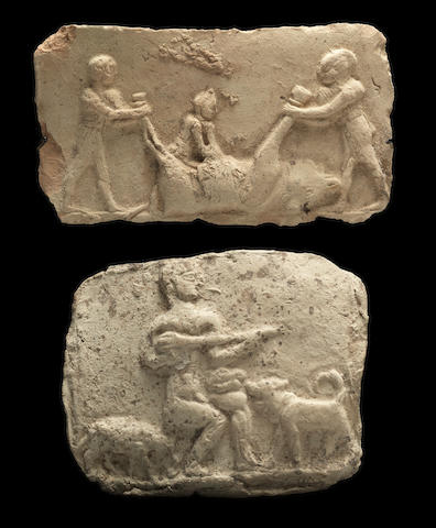 Two Babylonian terracotta plaques 2