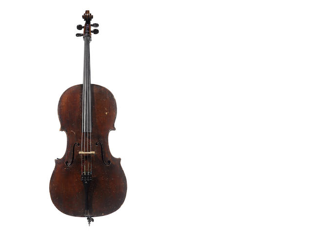 A Cello by Georges Mougenot, Brussels, 1889 (2)