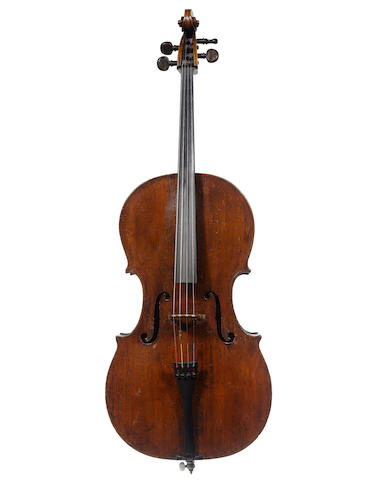 An English Cello circa 1790 (4)