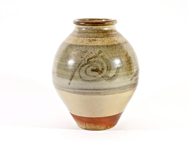 Bernard Leach A Stoneware Vase