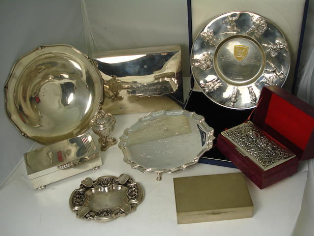 A collection of silver  various makers, dates and countries  (11)