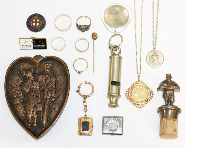 Assorted jewellery and mixed items
