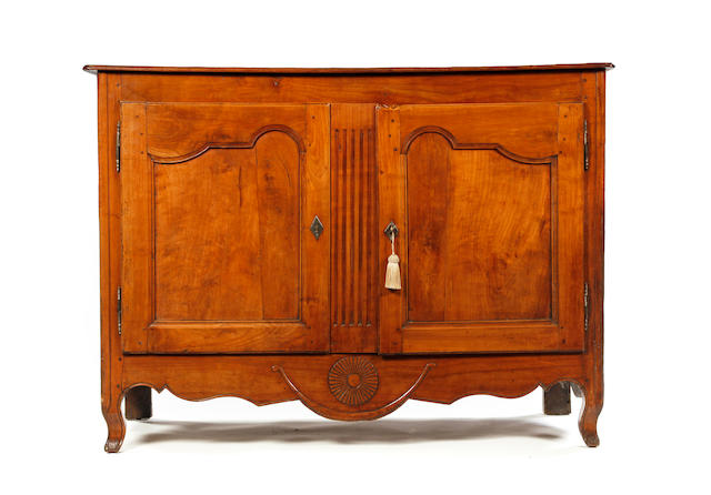 A late 18th century cherrywood buffet, French