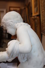 An Italian marble figure groupfirst half 19th century