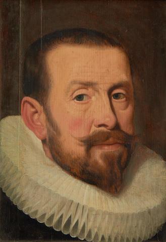 Flemish School, circa 1600 Portrait of a gentleman, traditionally identified with Henri de Guis,