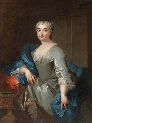 Robert Levrac-Tournières (Caen 1667-1752) Portrait of a lady
