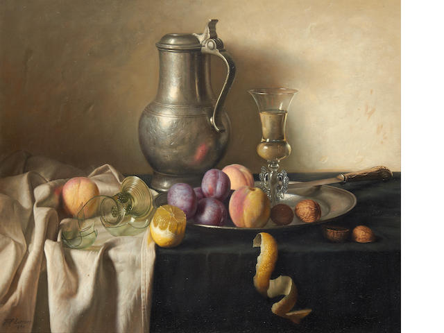 Jan Hendrik Eversen (Dutch, 1906-1995) Still life