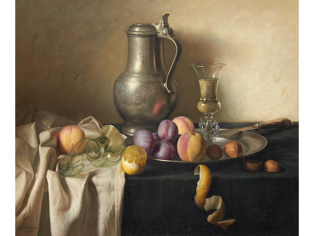 Jan Hendrik Eversen (Dutch, 1906-1995) Still life