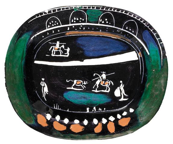 Pablo Picasso (Spanish, 1881-1973) Corrida verte