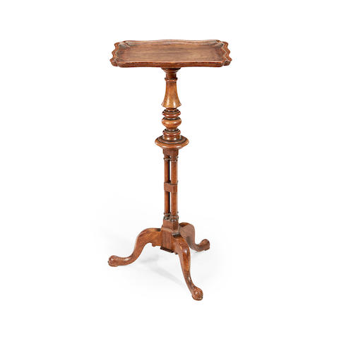 A George IV oak occasional table or 'flower stand'  attributed to Gillows