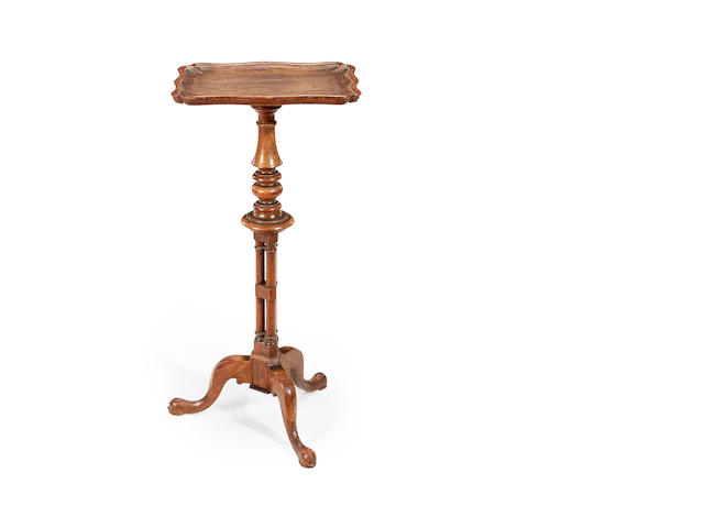 A William IV oak occasional table attributed to Gillows