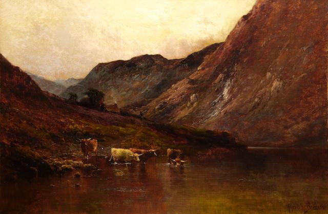 Alfred de Bréanski Snr. (British, 1852-1928) Duncraggan, Perthshire