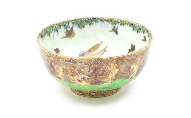 Small Wedgwood Fairyland Lustre Bowl