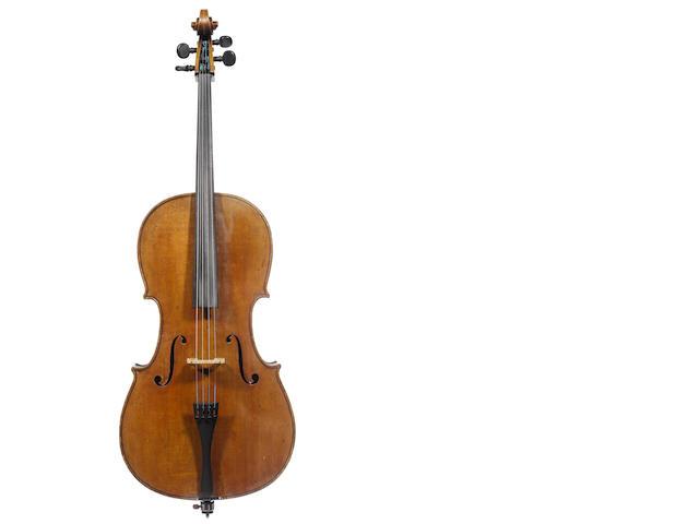 A Dutch Cello by Eugene Eberle, The Hague, 1901 (2)