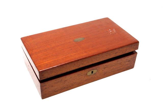 A Victorian walnut games compendium
