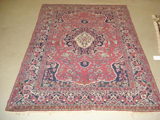 An Isfahan rug, Central Persia, 203cm x 137cm