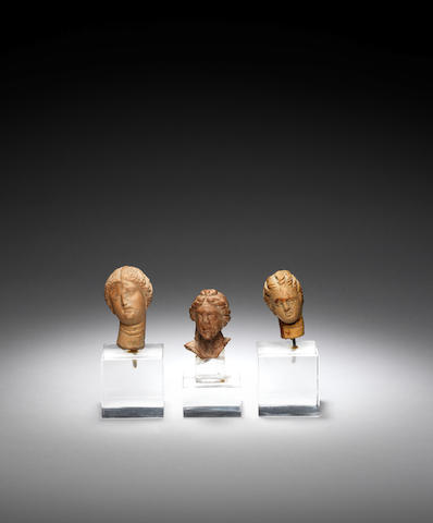 Three Greek terracotta heads 3