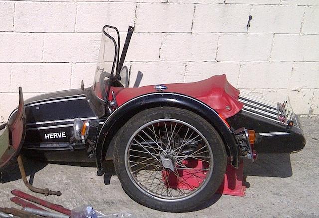 A Steib NR 28 sidecar,
