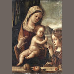 Venetian School, early 16th Century The Madonna and Child