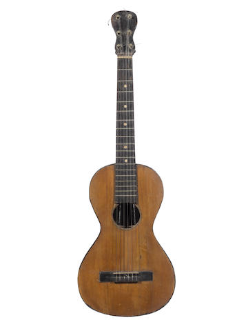 A six string Italian Guitar by Gennaro Fabricatore, Naples, 1812 (1)