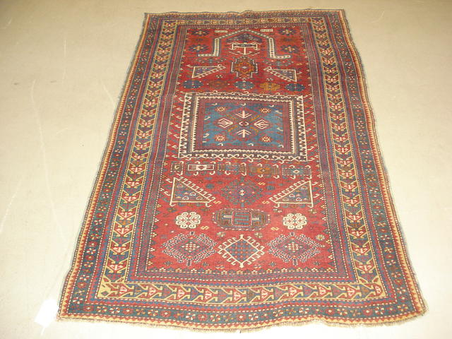 A Kazak prayer rug, Central Caucasus, 186cm x 108cm