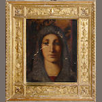 Continental School, 20th Century The Madonna in a Renaissance-Style frame
